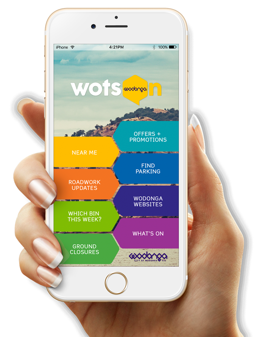 Have you tried the WotsOn Wodonga App yet?