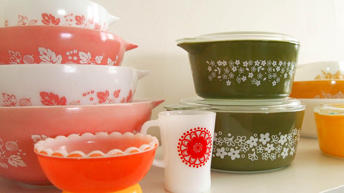 Kitchenalia – A collection of Pyrex and Vintage Collectibles