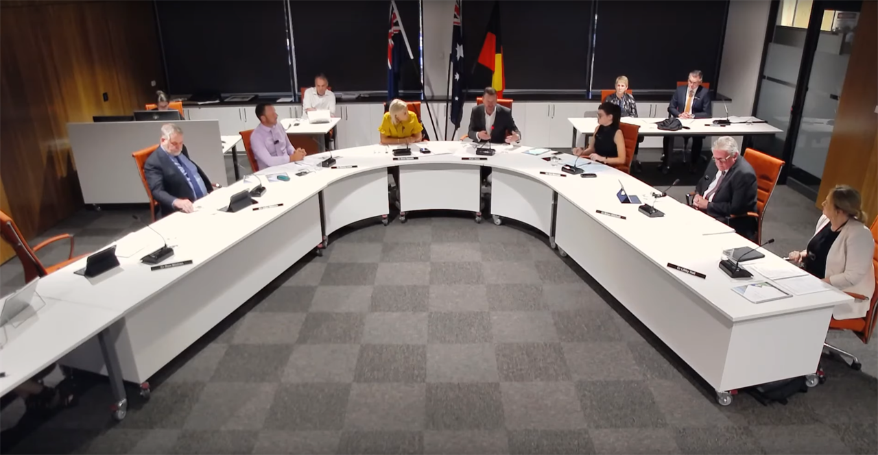 Council meeting: August
