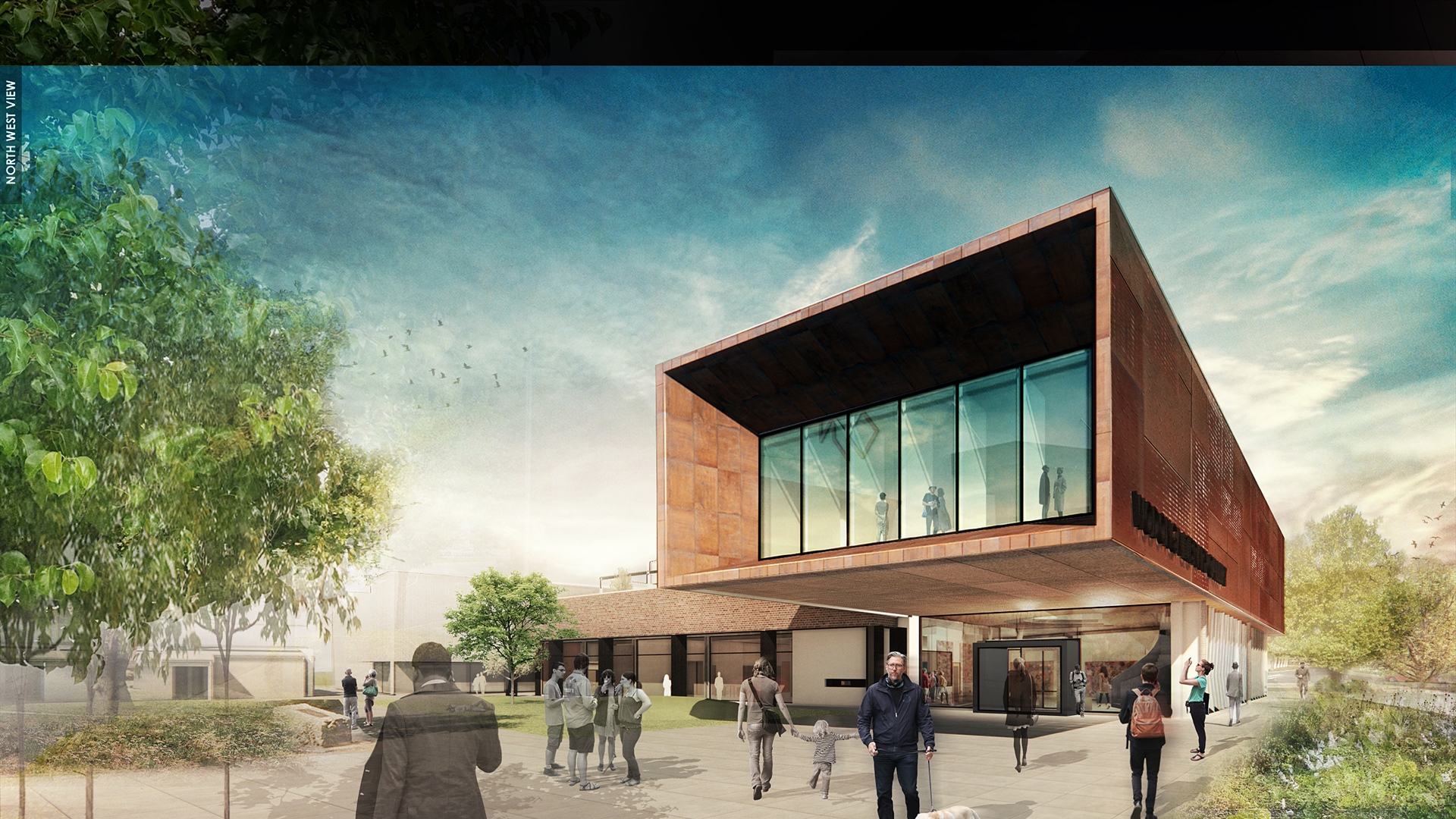 Library gallery construction tender awarded