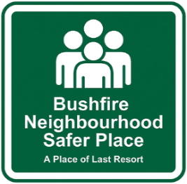 Neighbourhood safer places logo